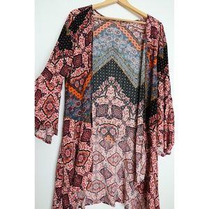 Boho inspired kimono